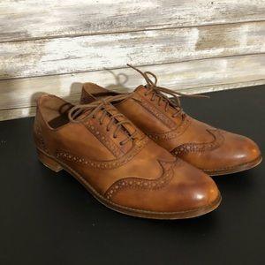 Cole Haan women's wingtip shoes